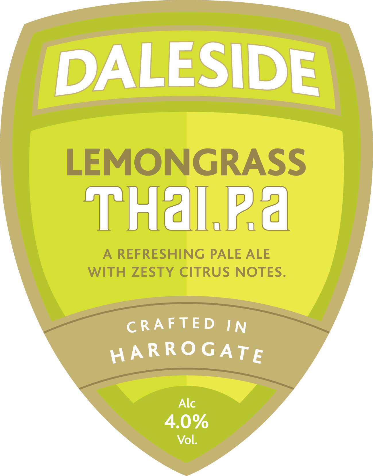 LEMONGRASS THAI.P.A 4% **Seasonal**