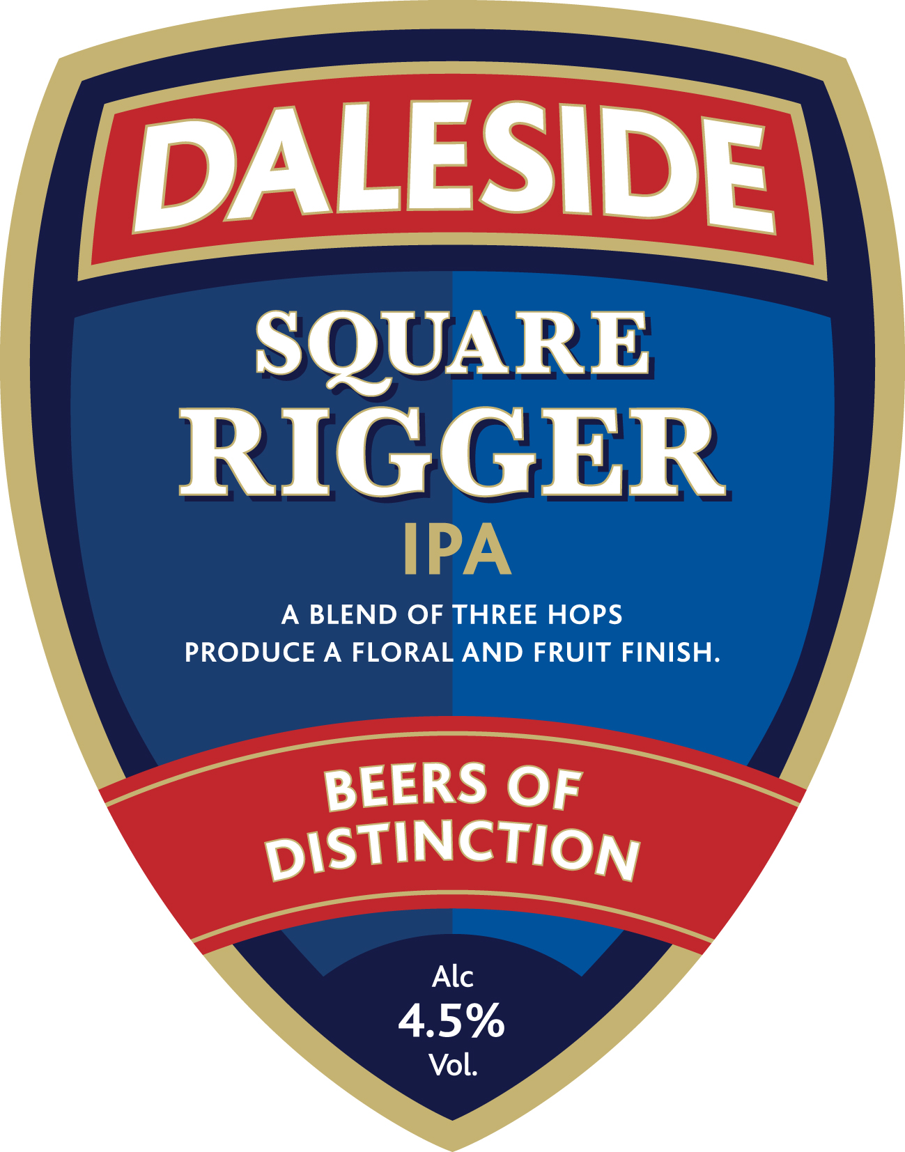 Square Rigger IPA 4.5%  **Seasonal**
